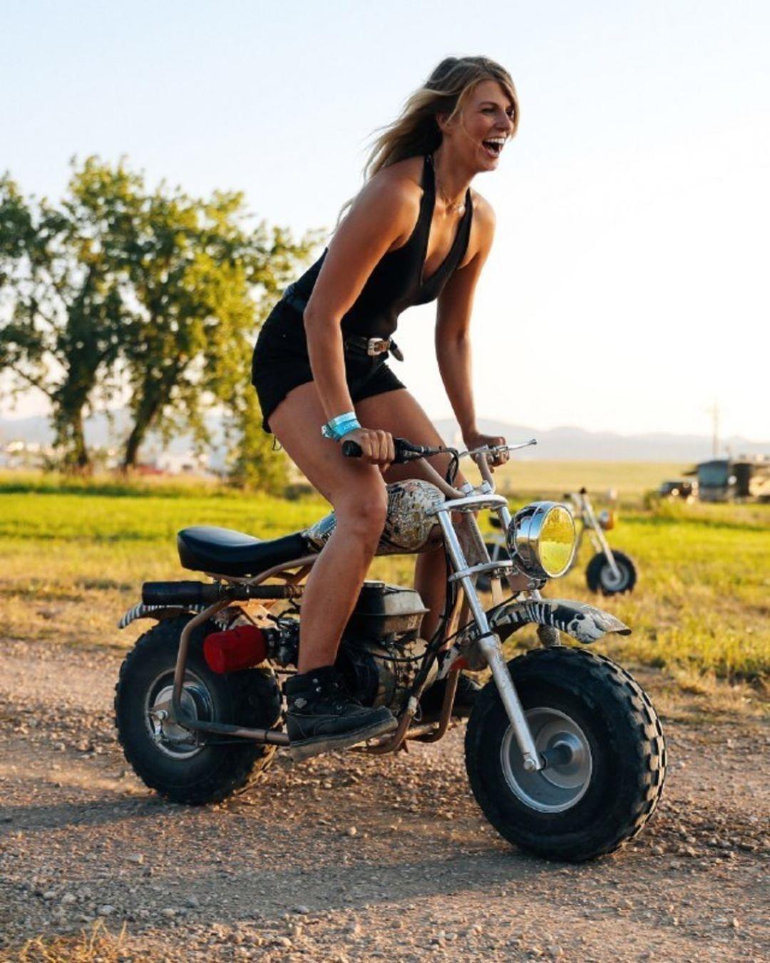 использовать скутер для бездорожья фото развивающая