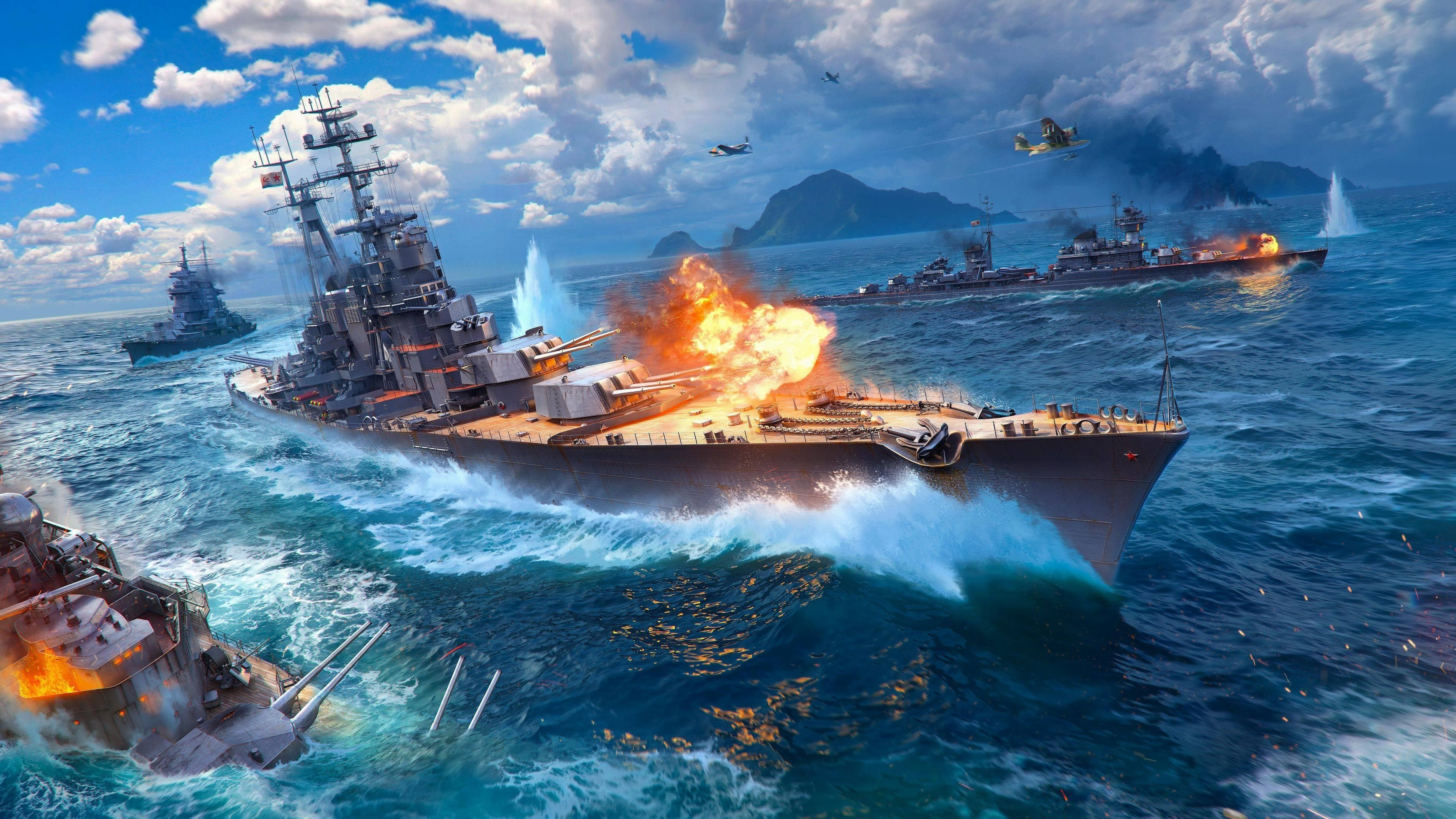 World Of Warship Game Wallpaper Free Download For Desktoptitlemeta