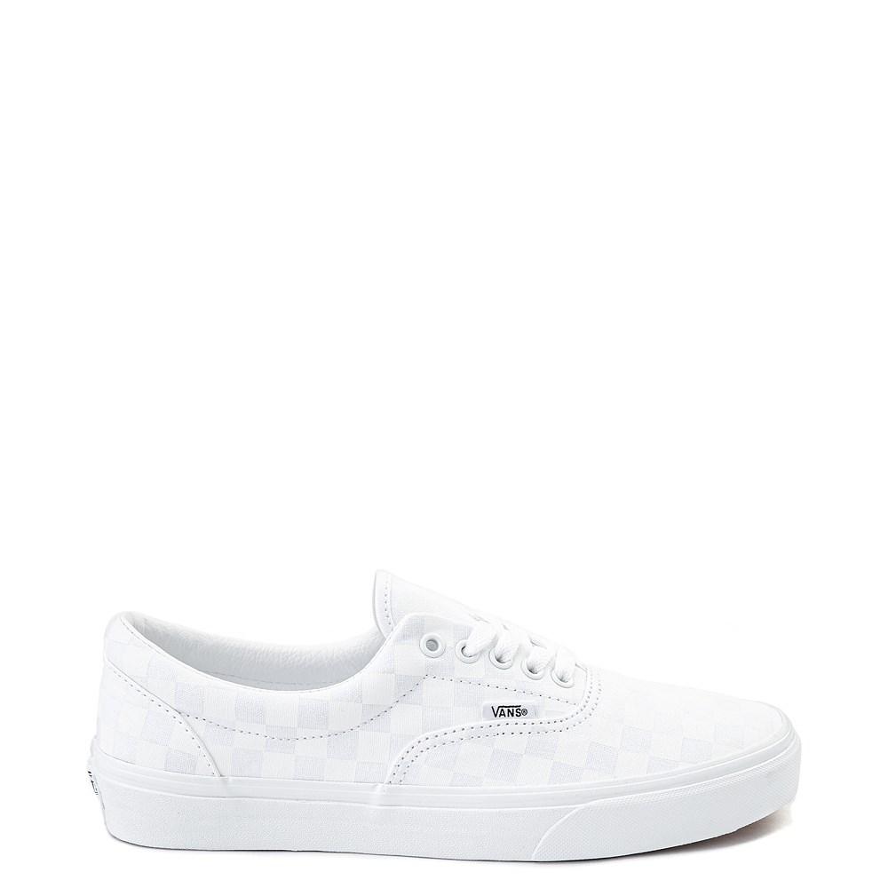 Vans Era Tonal Checkerboard Skate Shoe True White Skate Shoes Vans Shoes Fashion Vans Shoes Women