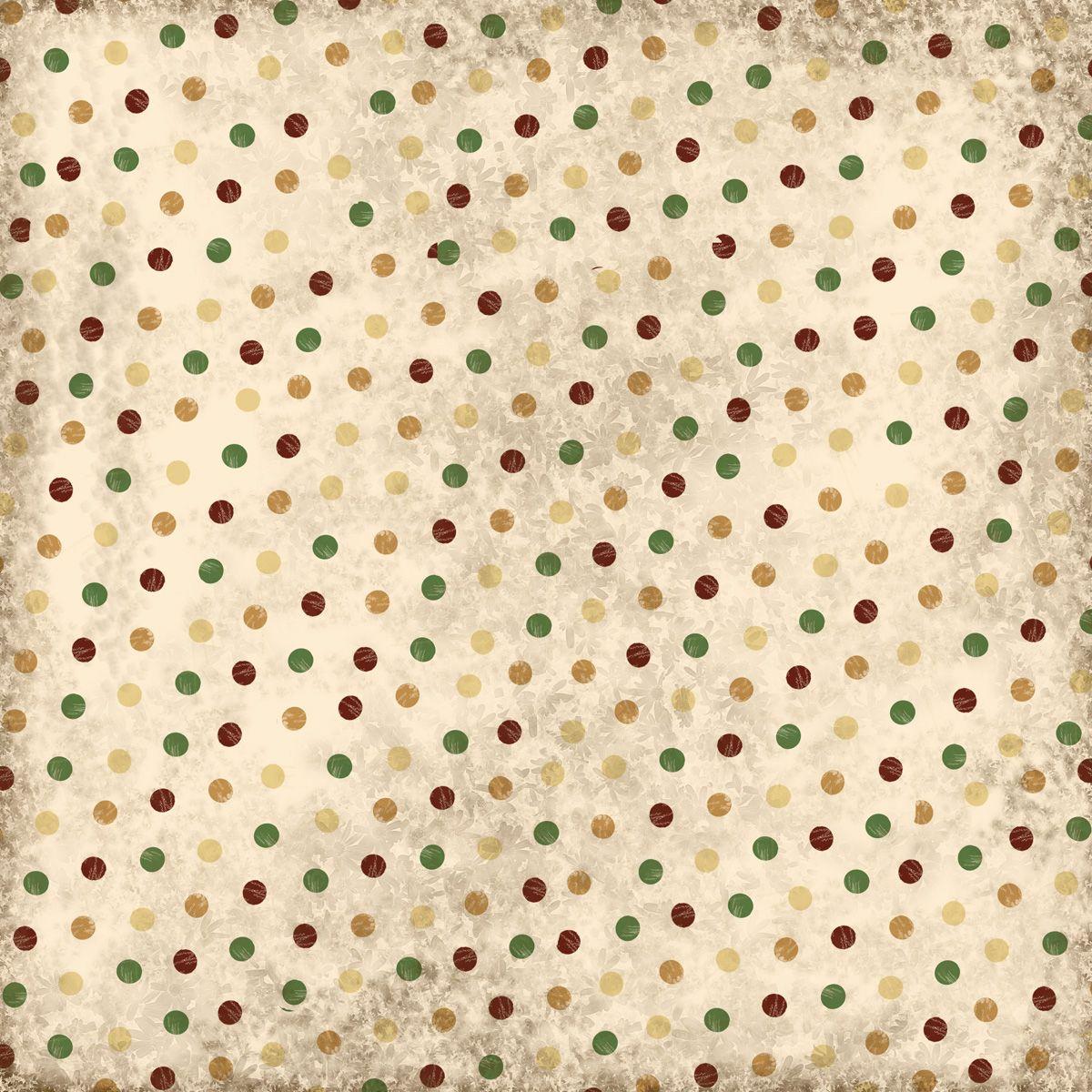 Scrapbook Paper Aged Dots Free Digital Scrapbook Paper