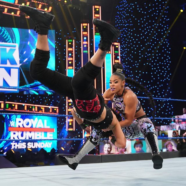 Wwe No Instagram Join Our Photographic Celebration Of Royalrumble Match Winner Biancabelairwwe Today In Our Story Em 2021