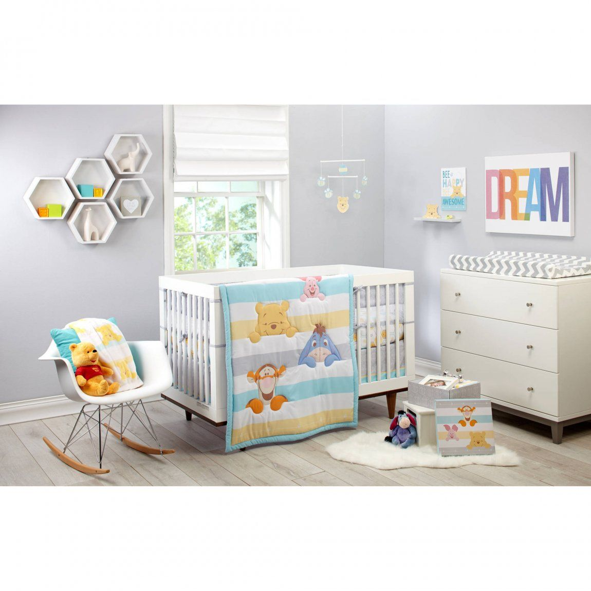 Baby Bettwäsche Winnie Pooh Nursery Bedroom Sets Bett Baby Crib Bedding Crib Bedding Boy