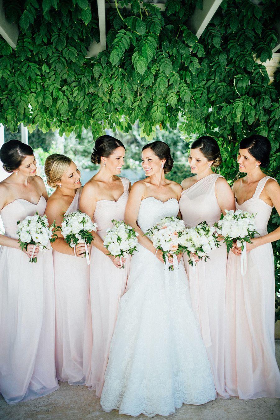 La Mariee Sweetheart Chiffon Bridesmaid Dresses Wedding Party Dress With Ruffles