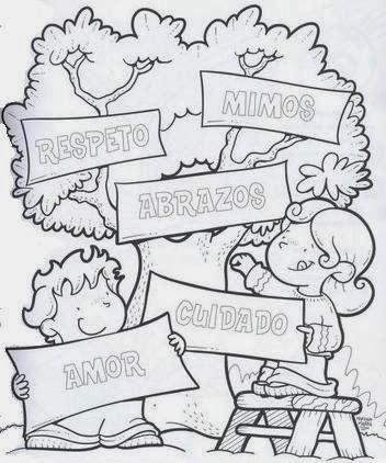 Dibujos De Arboles Para Colorear Parte 1 Dibujos School
