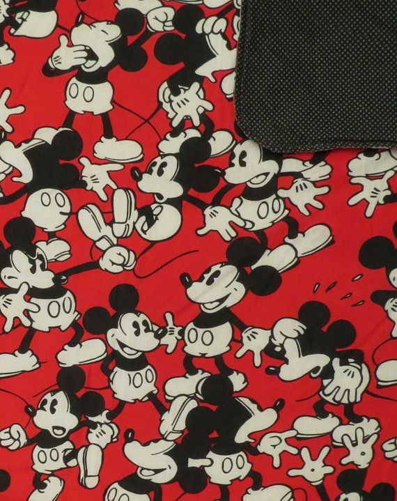 Vintage Mickey Mouse Blanket Mickey Mouse Blanket Vintage Mickey Mouse Vintage Mickey