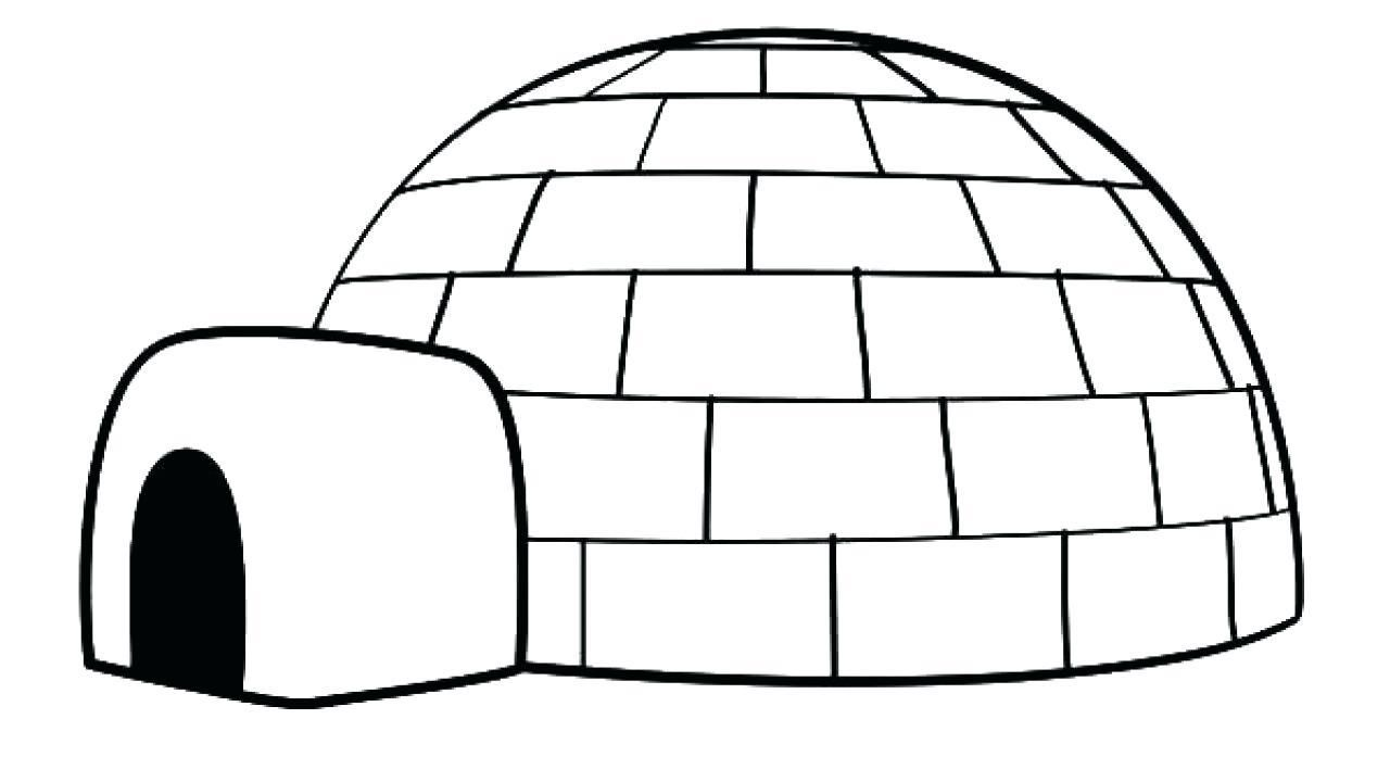 38 Coloring Page Igloo Igloo Drawing Coloring Pages Fruit Coloring Pages