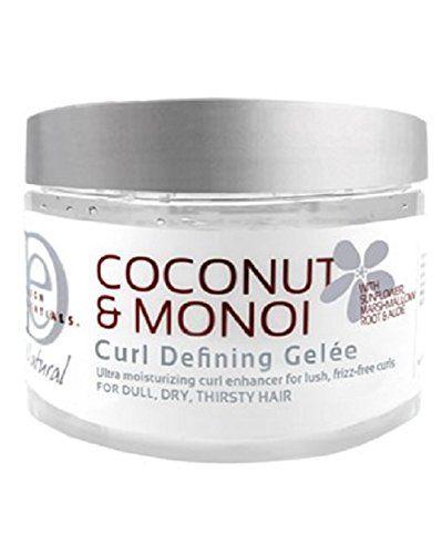 Design Essentials Natural Coco Mono Gelee Hair Gel 12 Ounce