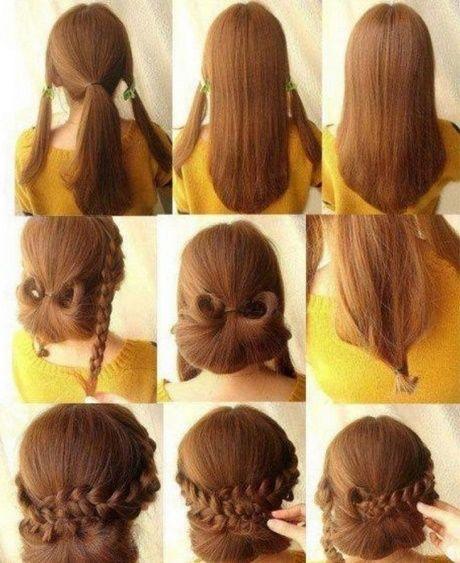 Lange Frisuren Hochsteckfrisuren Einfach Neu Haare Frisuren Stile
