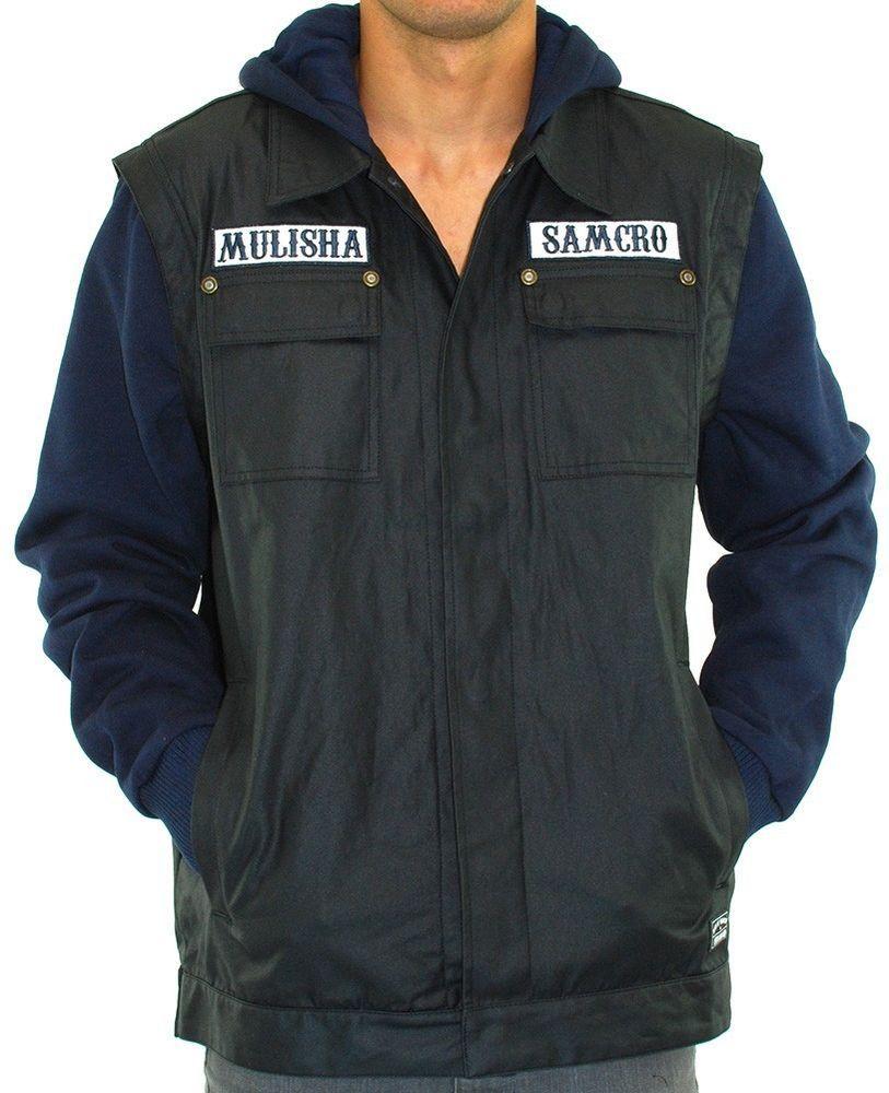Metal Mulisha  SonsofAnarchy  Anarchist  SOA Collab Hooded Jacket Wax  Coated Twill  MetalMulisha  Motorcycle ed76dbe6bb7