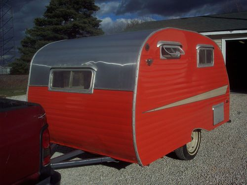 Camper Restoration| Serafini Amelia| 10 Ft. 1961 Vintage Scotty Serro Sportsman Camper Canned Ham Trailer