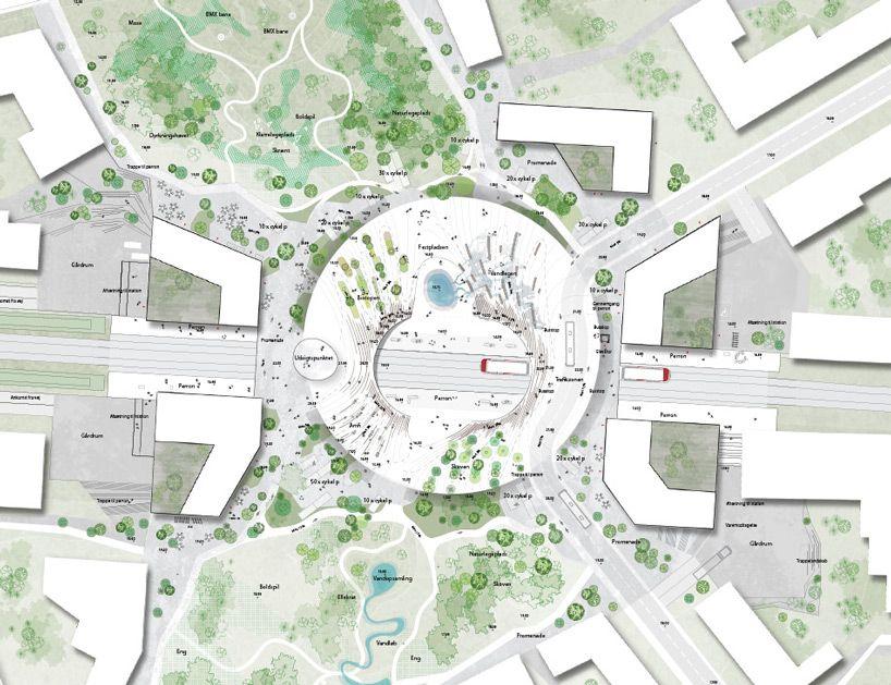 henning larsen selected to design future city of vinge's ...