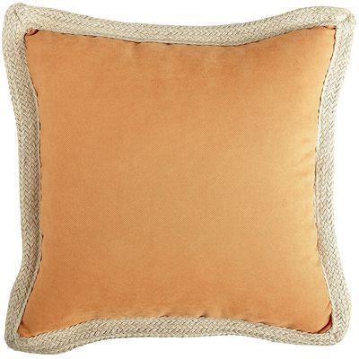 Calliope Jute Trim Pillow Clay Pillows Decorative