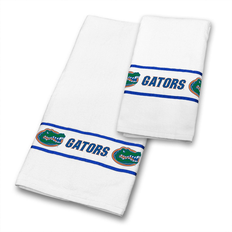 florida gators ncaa bathroom & hand towels set | ncaa - florida