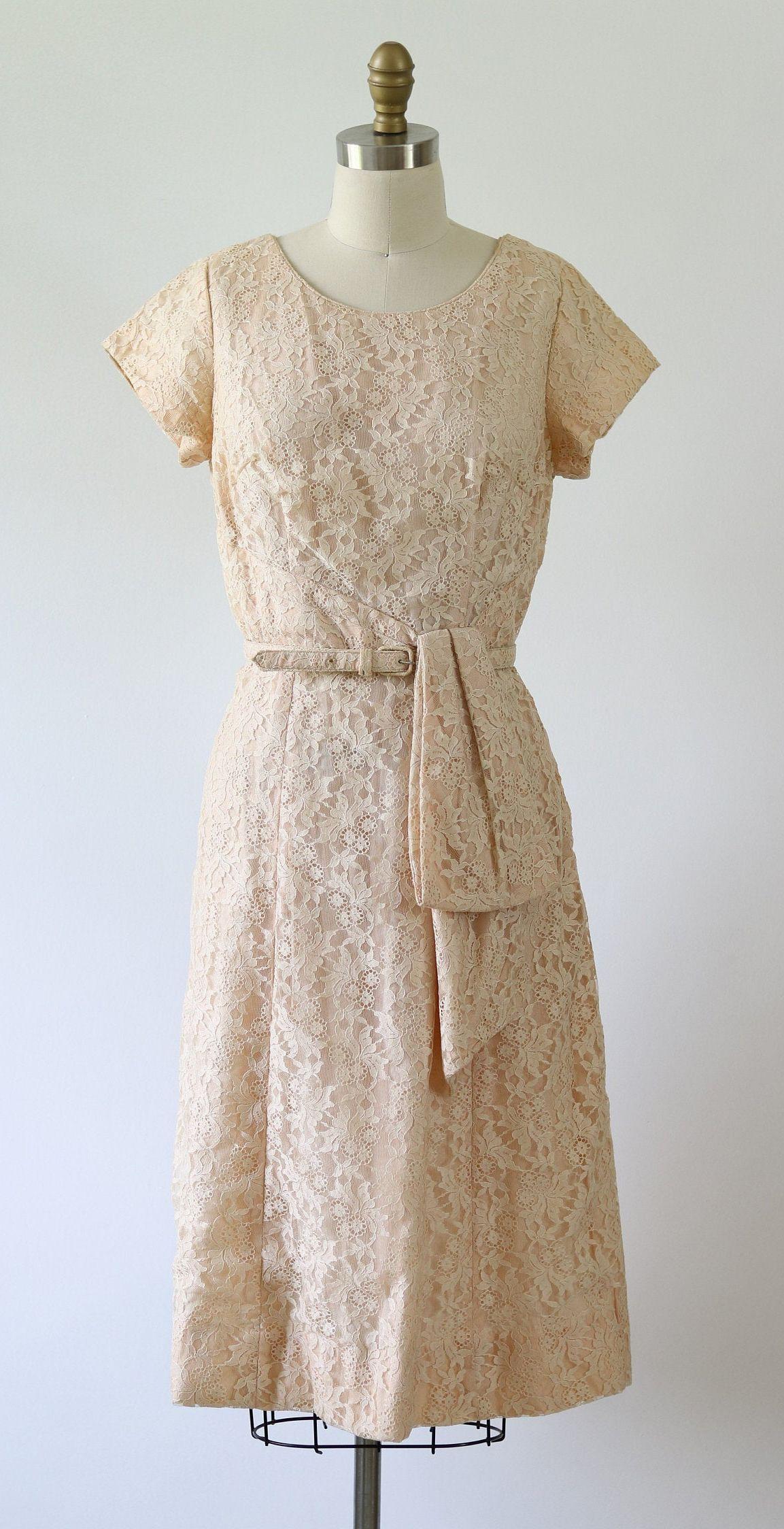 Vintage 1960s Lace Dress Formal Cocktail Etsy Lace Dress Formal Dresses 60s Aesthetic Fashion [ 2248 x 1153 Pixel ]