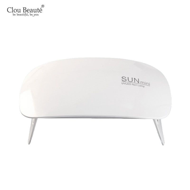 Clou Beaute Sun Mini Uv Led Lamp Portable Usb Charge Nail Dryer Home Use For Curing Gel Nail Polish Gel Lacquer Nail Nail Dryer Gel Nail Polish Dry Nail Polish