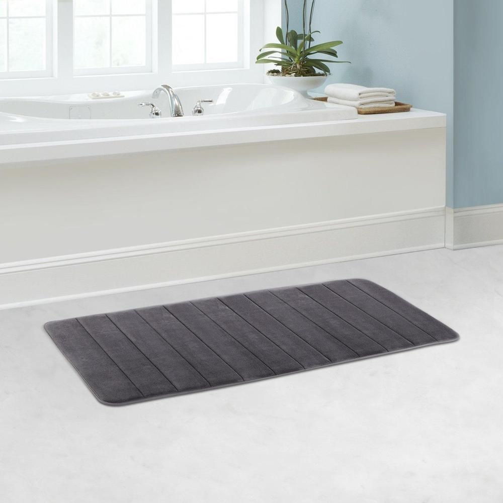 Fine Memory Foam Bathroom Mat Bath Runner Rug Anti Slip Bath Rugs Download Free Architecture Designs Scobabritishbridgeorg