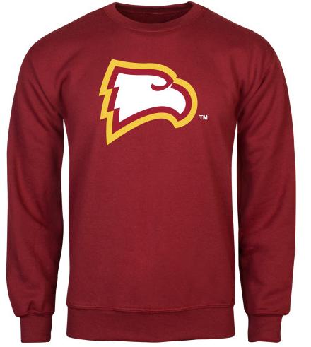 Cardinal Fleece Crew Eagle Head 37 98 42 98 Colors Gold And Cardinal Long Sleeve Tshirt Men Mens Sweatshirts Eagles Sweatshirt