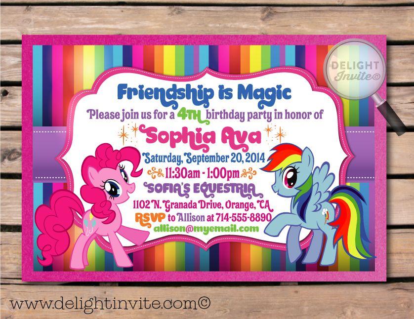my dash 1st birthday party Rainbow Dash and Pinkie Pie My Little