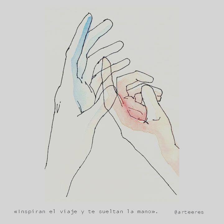 Inspiran el viaje y te sueltan la mano.