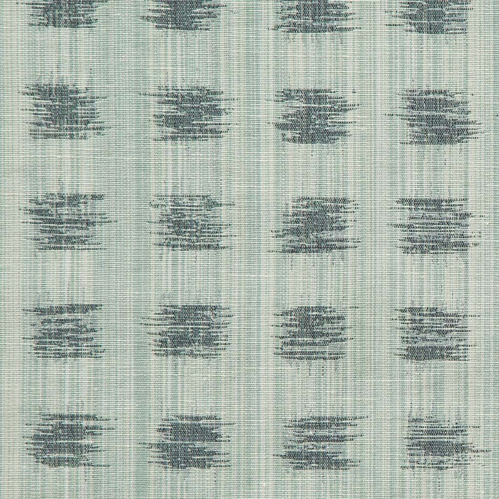 For our first collection, we wanted to focus on creating a few basics that could provide a great layer when mixed with print. Our gridded ikat references abstract pencil drawings, and it's woven with