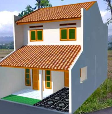 Biaya Bangun Rumah Minimalis 2 Lantai Type 21 Paling Hemat Rumah Rumah Minimalis Desain
