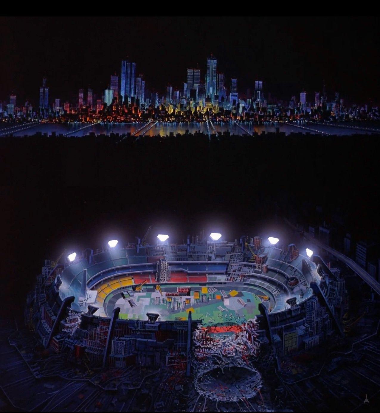 AKIRA Panoramas Tokyo olympics, Akira, Neo tokyo