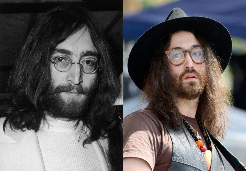 John Lennon And Sean