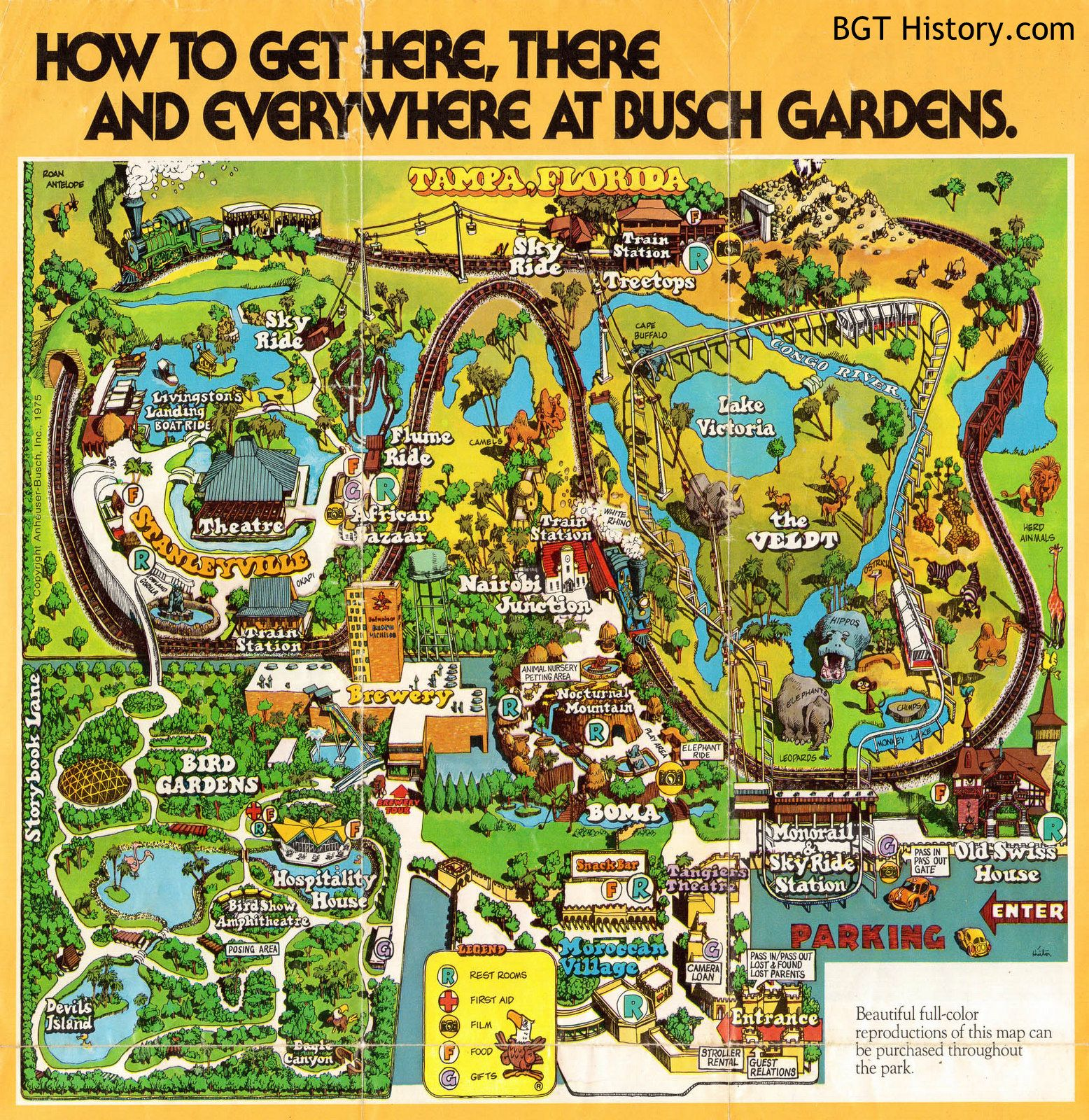 3995fa4a74c5a65f0d75afbf3c83e179 - Busch Gardens Tampa Christmas Town Map