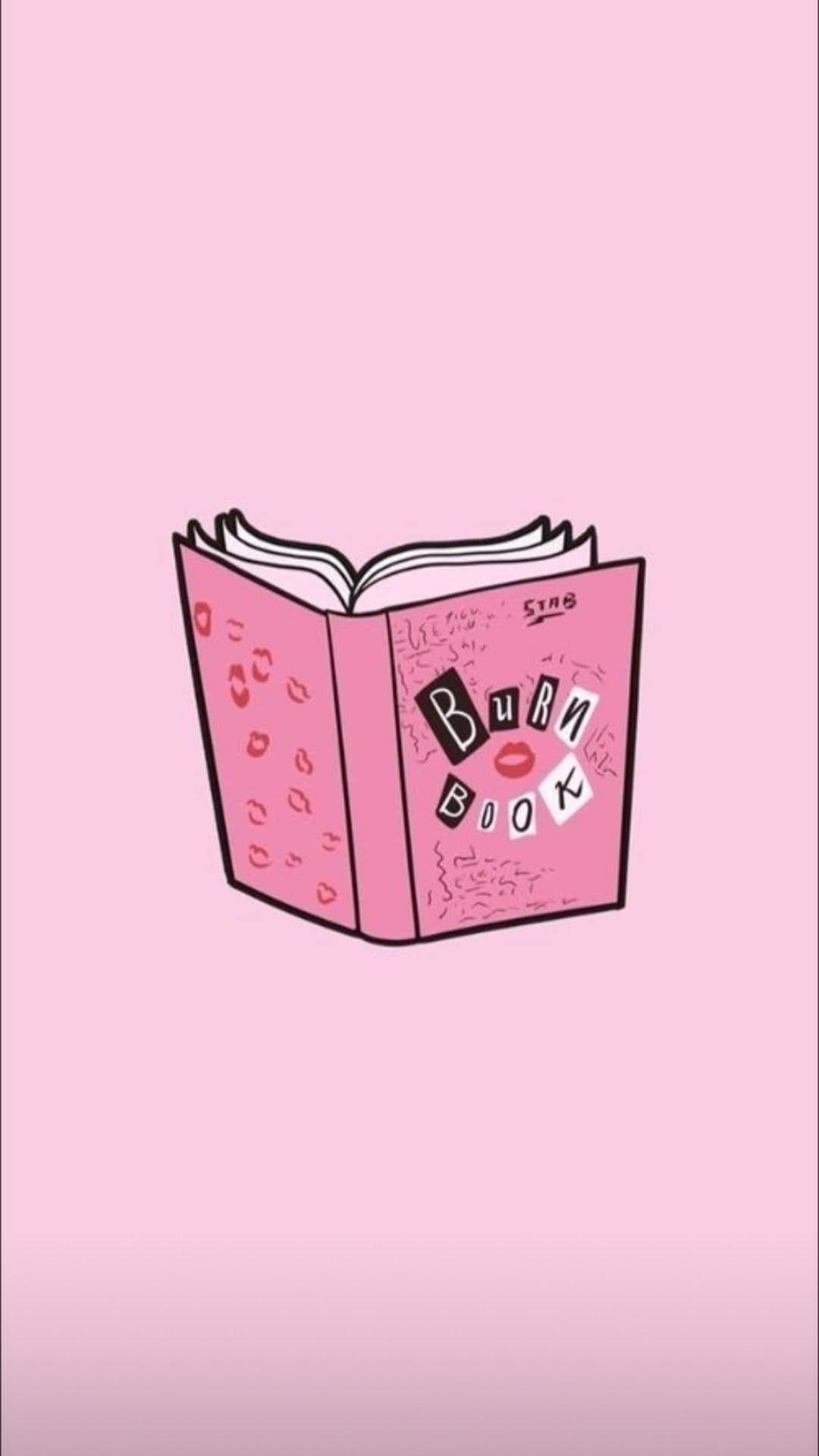 Burn Book Texture Mean Girls Book Texture Mean Girls Mean Girls Burn Book