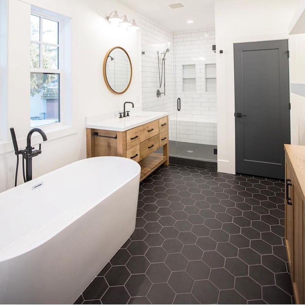 37 Industrial Farmhouse Bathroom Reveal Cottage Bathroom Design Ideas Modern Farmhouse Bathroom Modern Bathroom Design