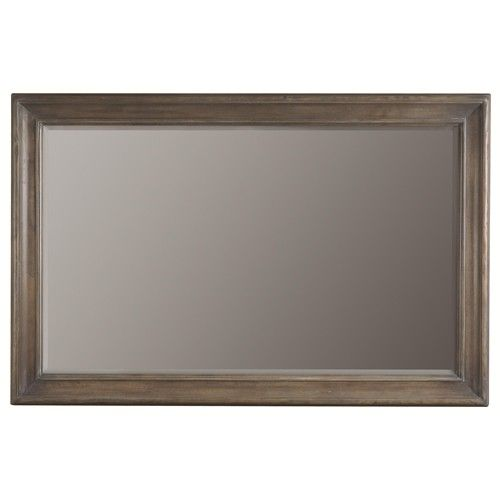 Bernhardt Belgian Oak Accent Wall Mirror With Simple Wood Frame Style With Images Mirror Mirror Wall Belfort Furniture