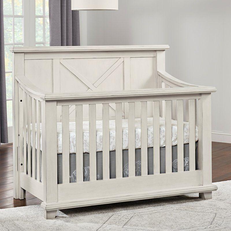 Telscombe 4 In 1 Convertible Crib Convertible Crib Cribs Baby Nursery Furniture