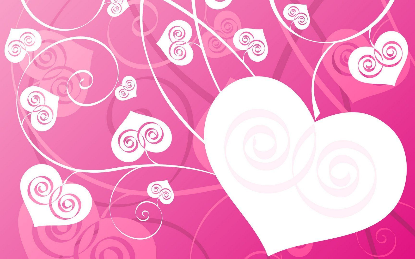 Girly Love Wallpaper : Girly Desktop Backgrounds Girly Pink Hearts wallpaper Love Pinterest Desktop backgrounds ...