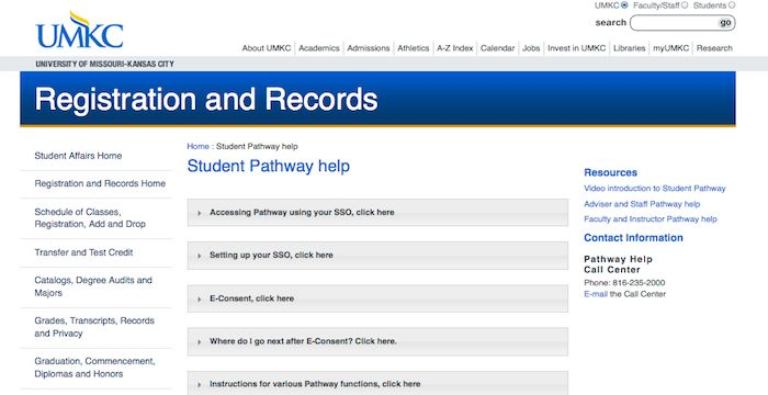 Umkc Academic Calendar.Umkc Pathway Login Login Archives Signs Pathways Student Web