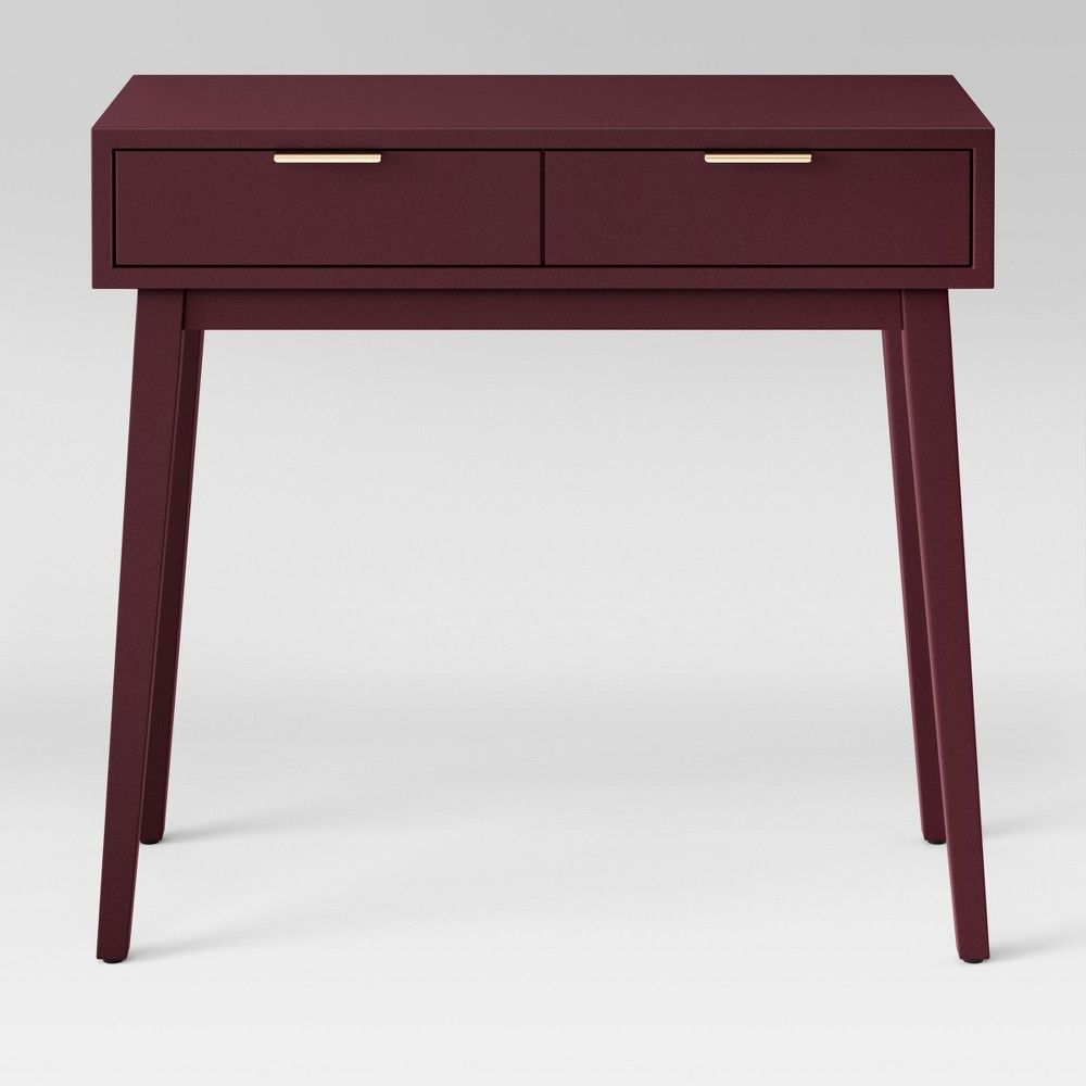 Hafley Two Drawer Console Table Berry Project 62 Console Table Console Table Living Room Storage Spaces
