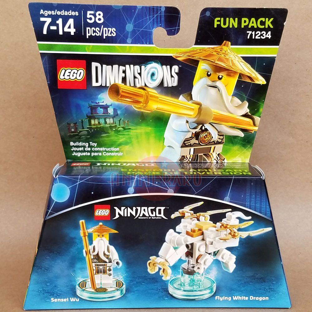 Lego Dimensions Ninjago Sensei Wu 71234  Combine shipping and save