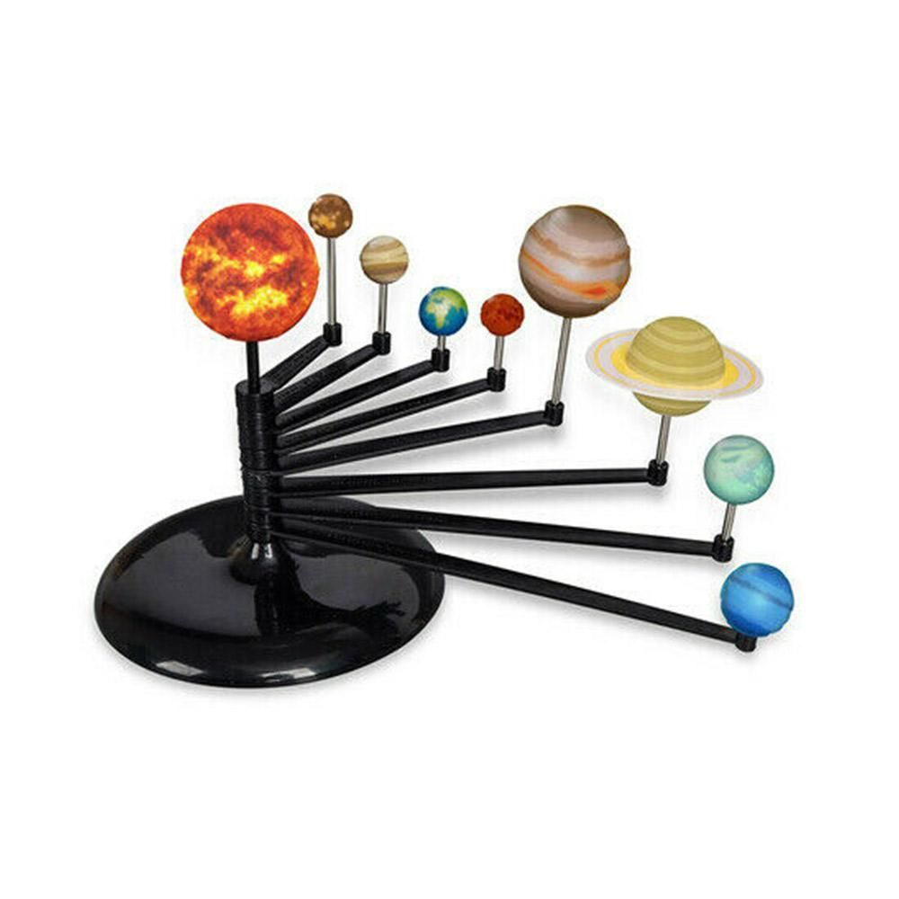 Build & Paint 3D Solar System Model Kit 3d solar system