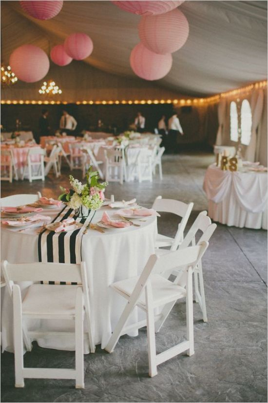 backyard tent wedding reception ideas
