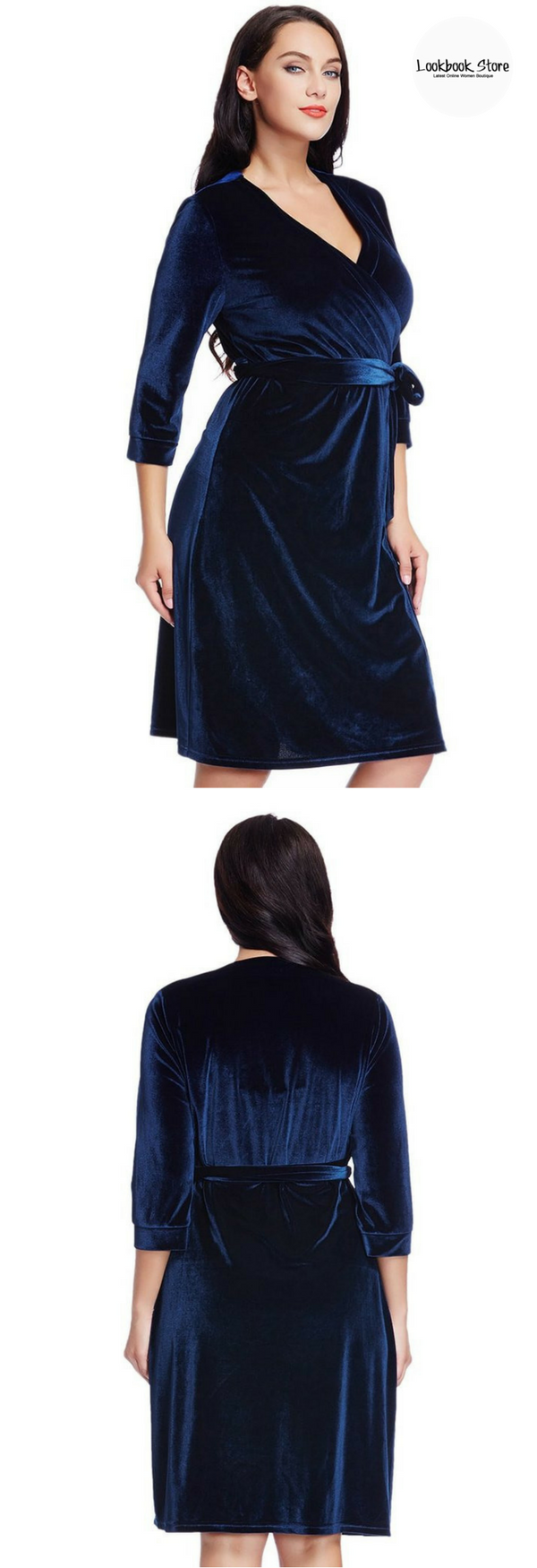 Plus add some glamour to your evening with this striking plus