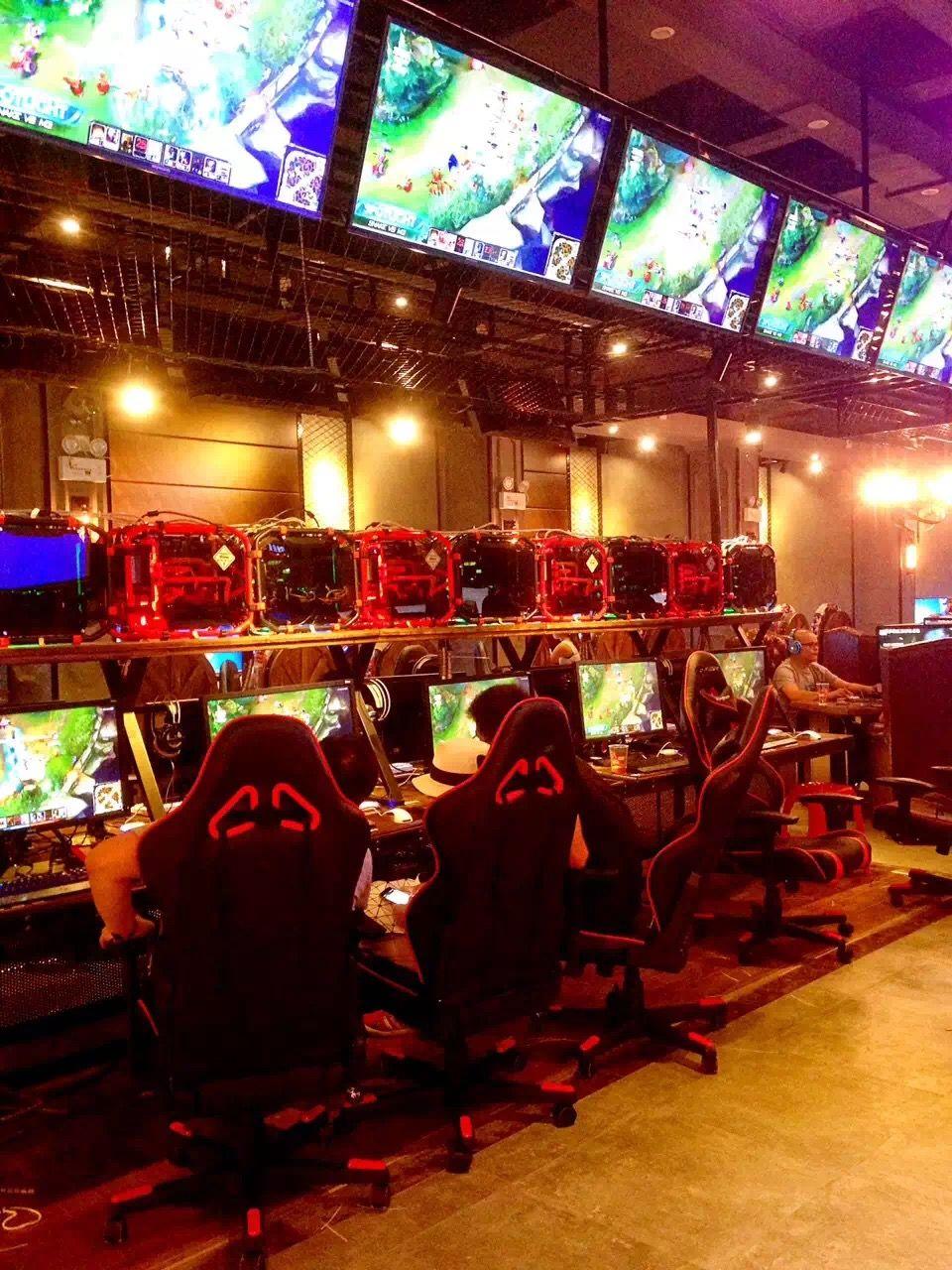 Internet Cafe Cyber Cafe Cyber Cafe Interior Game Cafe