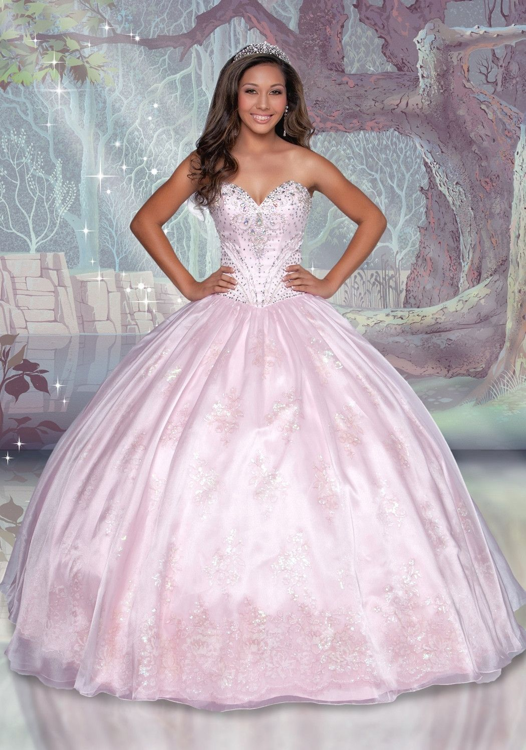 Disney Royal Ball Quinceanera Dress Sleeping Beauty Style 41100 | 15 ...