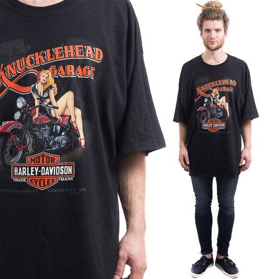 Vintage HARLEY DAVIDSON T-Shirt by BetaMenswear