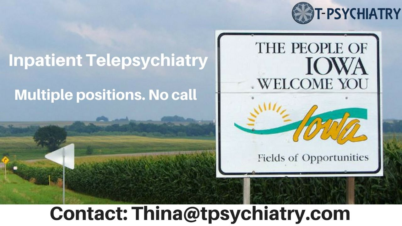 Looking For Psychiatrists For Multiple Positions Inpatient Psych