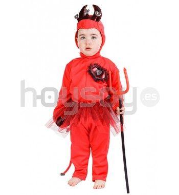 Estupendo #disfraz para #bebé de diablilla para disfrutar de tu