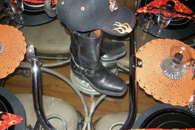 Harley davidson wedding decorations centerpieces   Stuff to Buy ...