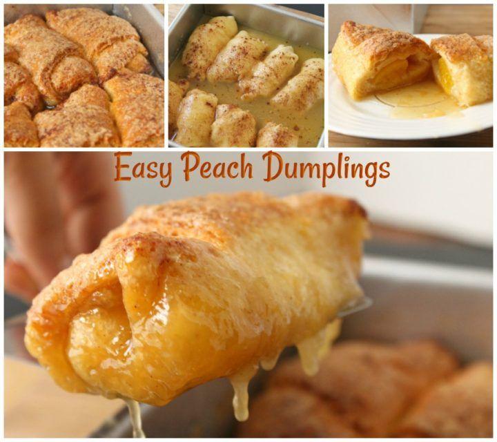 Easy Peach Dumplings! is part of Peach dumplings -