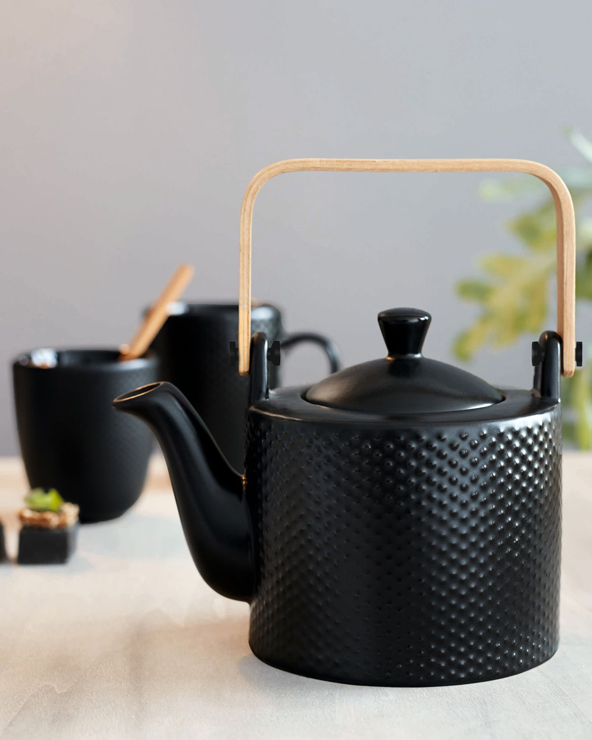 Tea Pot Pique Black Black Tea Asa Selection