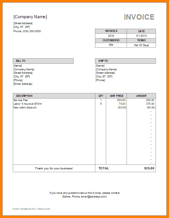 General Power Of Attorney Template Invoice Template Word Invoice Template Invoice Format In Excel
