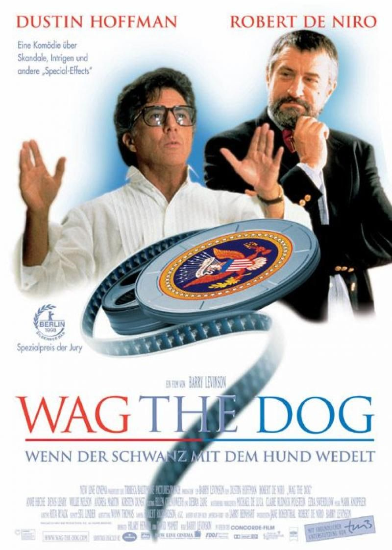 Mera Coincidência (Wag the Dog), 1997. Filmes, Coincidência