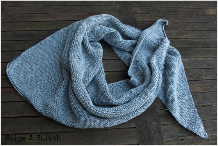 Photo of Stine & Stitch: Ich liebe gestrickte dreieckige Schals